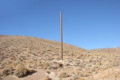 New pole below Shack