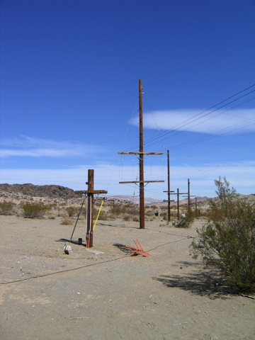 East View of Antenna Field