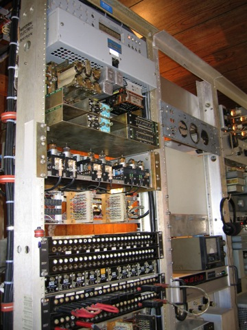 Western Electric Rack #1 Mid View