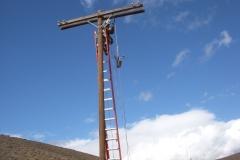 Construction DE pole