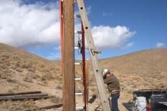 Construction of DE Pole