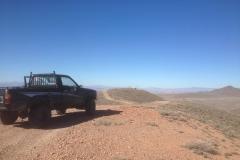 pickup arrives at Shack site